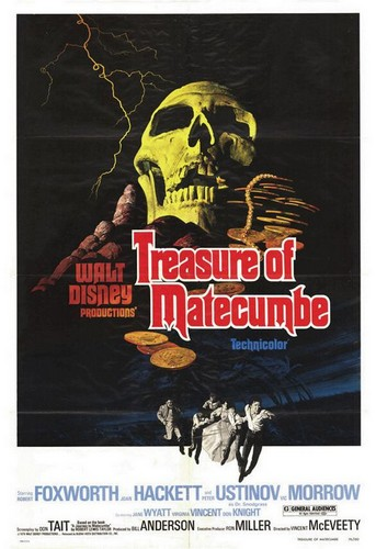 TREASURE OF MATECUMBE FILM POSTER 1
