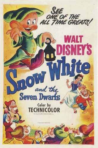SNOW WHITE FILM POSTER ORIGINAL FIRST EDITION