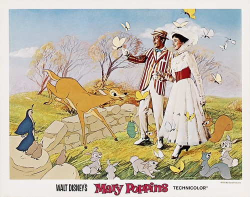 MARY POPPINS LOBBY CARD 1