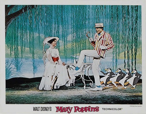 MARY POPPINS LOBBY CARD 2