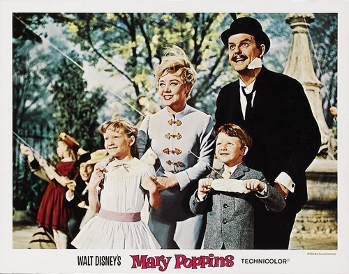 MARY POPPINS LOBBY CARD 3