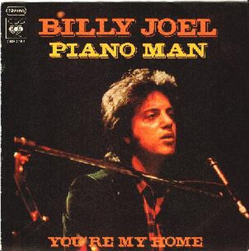 PIANO MAN SINGLE COVER