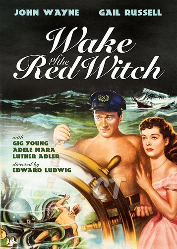 THE WAKE OF THE RED WITCH(1948) FILM POSTER 3 ct
