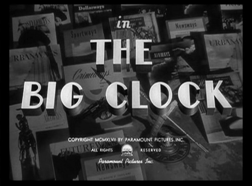 THE BIG CLOCK (1)