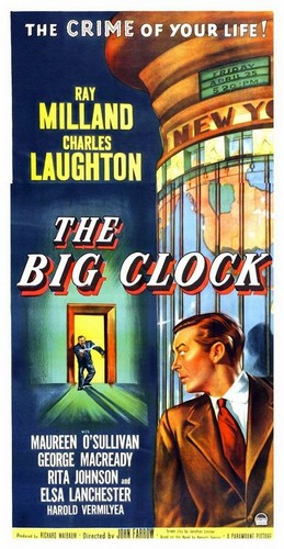 THE BIG CLOCK FILM POSTER 2