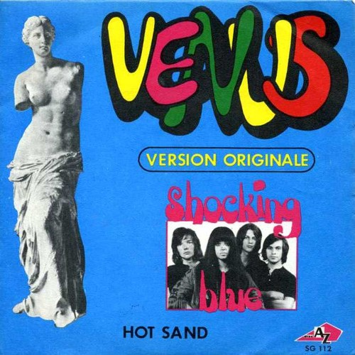 VENUS - HOT SAND 45 COVER