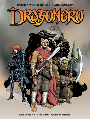 DRAGO NERO COVER 1