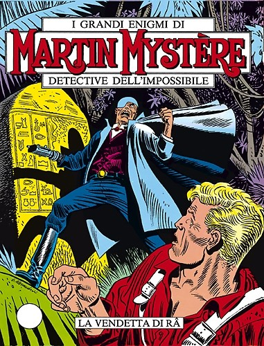 MARTIN MYSTERE 2 COVER ITALY