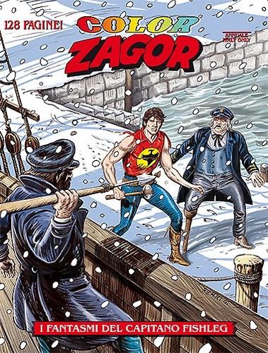 ZAGOR COLORI  1 COVER ITALY