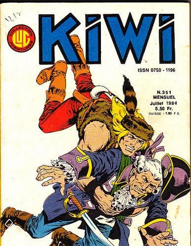 KIWI 351(JULY 1984 - FRANCE) COVER