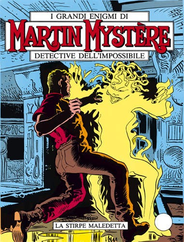 MARTIN MYSTERE ITALY 4 COVER