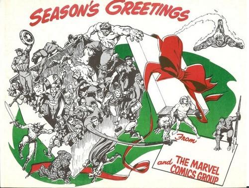 CHRISTMAS CARDS '70 - 2