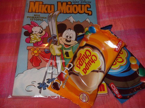 Mickey Mouse & Candies (4)ct